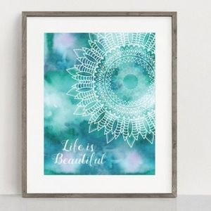 Wall Art Quote - 8x10